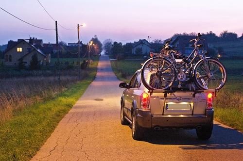 przewożenie rowerów - bagażniki
