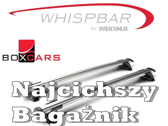 Bagażnik dachowy WHISPBAR Through S16 - K1047 Audi Q2