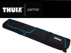 Thule RoundTrip Snowboard Roller 165 cm Black