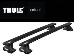Bagażnik dachowy Ford Focus sedan Thule Evo Clamp wingbar 127 black -5124